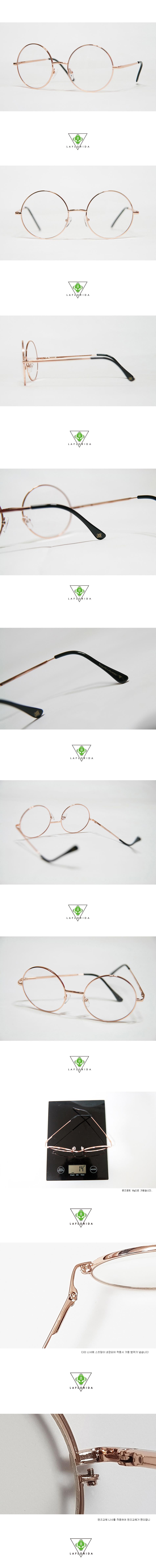 라플로리다(LAFLORIDA) 산타 골드 glasses 블루라이트 차단 렌즈 적용