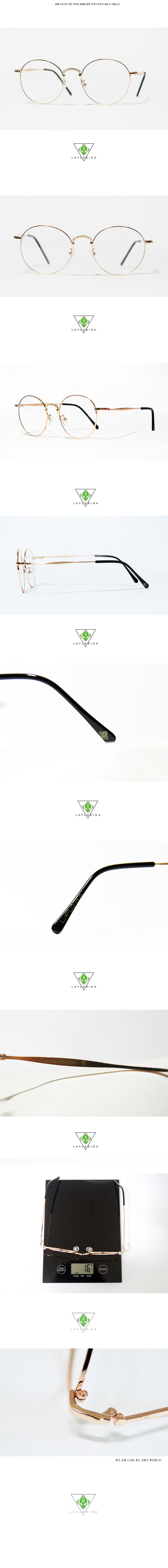 라플로리다(LAFLORIDA) [라플로리다] 아담스 골드 GLASSES