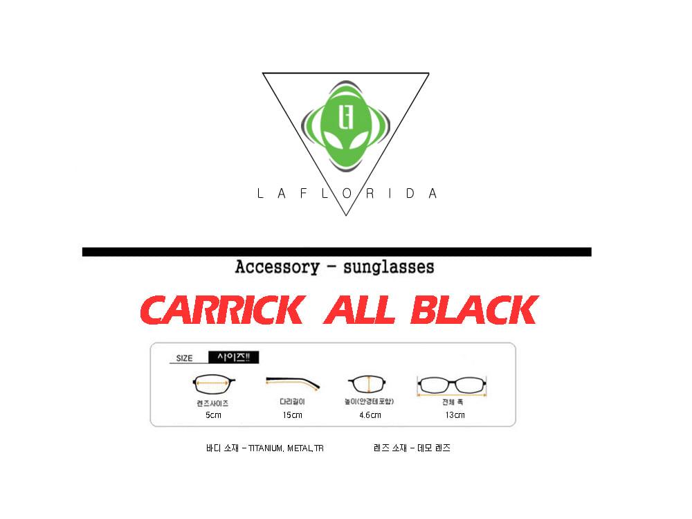 라플로리다(LAFLORIDA) 캐릭 티타늄 안경 올블랙
