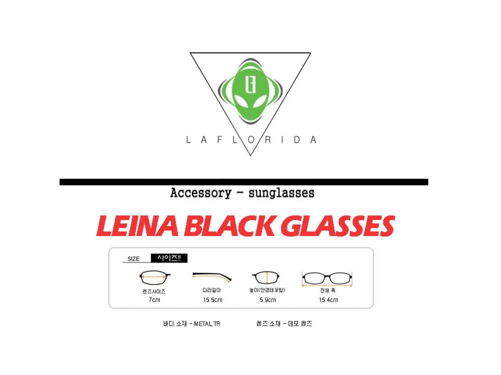 라플로리다(LAFLORIDA) 레이나 블랙 안경