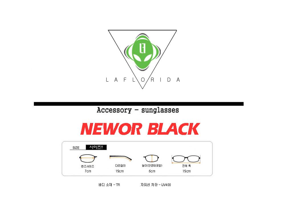 라플로리다(LAFLORIDA) 뉴올 블랙 틴트 렌즈 선글라스